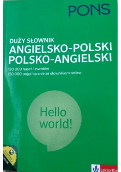 Duży słownik angielsko polski polsko angielski