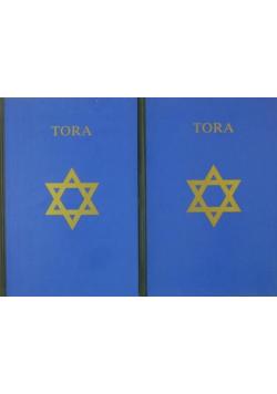 Tora Pięcioksiąg Mojżesza 2 tomy