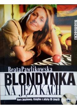 Blondynka na językach niemiecki plus CD Nowa