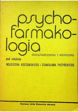 Psychofarmakologia doświadczalna i kliniczna