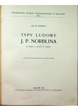 Typy ludowe J P Norblina