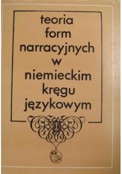 Teoria form narracyjnych w niemieckim kręgu językowym