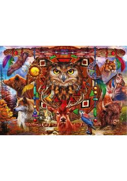 Puzzle 4000 Totem - Zwierzęta