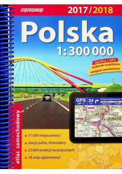 Polska Atlas samochodowy 1 : 300 000