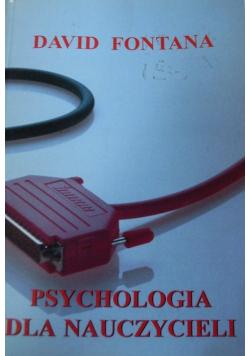 Psychologia dla nauczycieli
