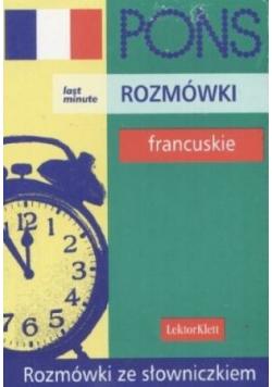 Rozmówki francuskie Wersja Kieszonkowa