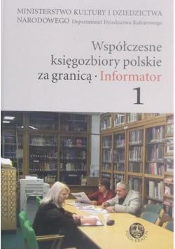 Współczesne księgozbiory polskie za granicą plus CD