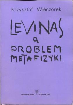 Levinas a problem metafizyki