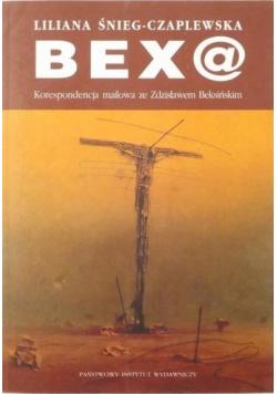 Bex@ Korespondencja mailowaze Zdzisławem Beksińskim