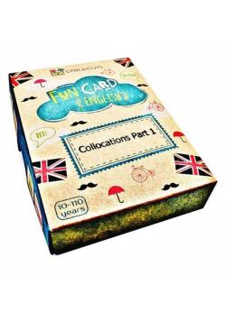 Fun Card English Collocations Part 1 CREATIVO