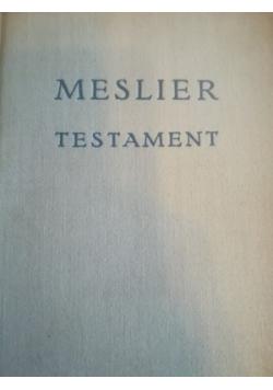 MESLIER Testament