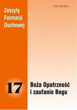 Zeszyty Formacji Duchowej nr 17 Boża Opatrzność...