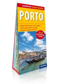 Porto laminowany map&guide (2w1 przewodnik i mapa)