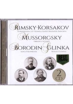 Wielcy kompozytorzy - Rimsky-Korsakov... (2 CD)