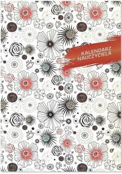 Kalendarz nauczyciela B6 2020/2021 PCV Kwiaty