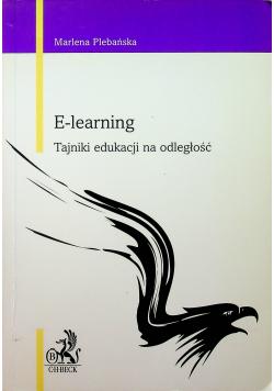 E - learning Tajniki edukacji na odległość
