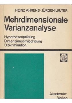 Mehrdimensionale Varianzanalyse