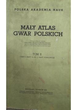 Mały Atlas Polski Tom II