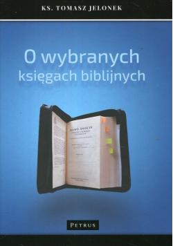 O wybranych księgach biblijnych