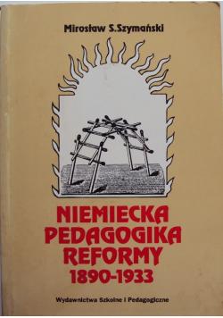 Niemiecka Pedagogika Reformy 1890 1933