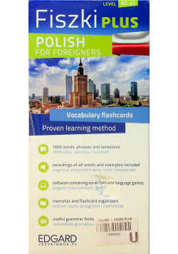Fiszki PLUS Polish for foreigners