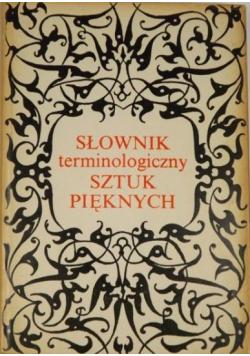 Słownik terminologiczny Sztuki Pięknych