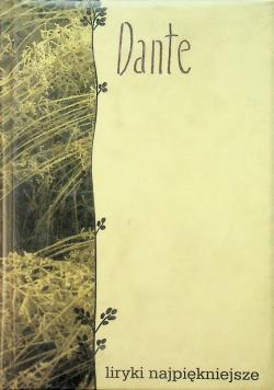 Dante Liryki najpiękniejsze