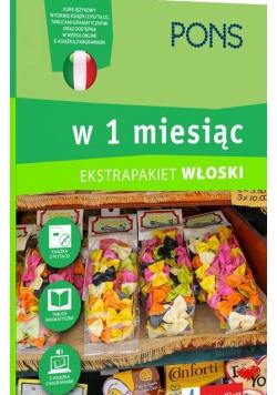 Ekstrapakiet Włoski w 1 miesiąc plus CD