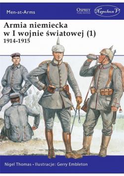 Armia niemiecka w I wojnie światowej (1) 1914-1915