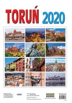 Kalendarz ścienny 2020. Toruń