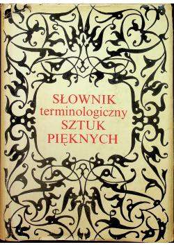 Słownik terminologiczny sztuk pięknych