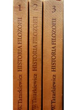 Historia filozofii 3 tomy