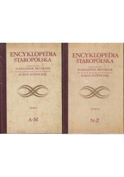 Encyklopedia Staropolska Tom I i II