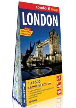 Comfort!map Londyn (London) 1:17 500 plan miasta