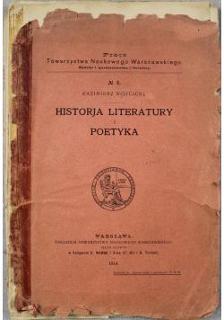 Historja literatury i poetyka 1914
