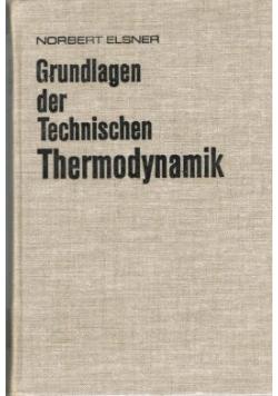 Grundlangen der Technischen Thermodynamik