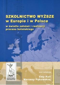 Szkolnictwo Wyższe w Europie i w Polsce