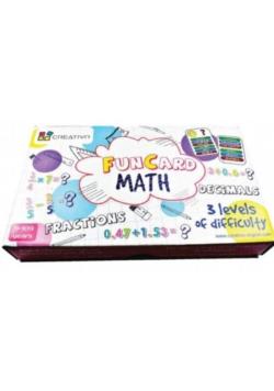 Fun Card Math (ułamki zwykłe, ułamki dziesiętne)