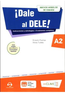 Dale al DELE A2 książka + wersja cyfrowa + zawartość Online
