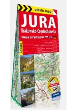 Plastic map Jura Krakowsko-Częstochowska 1:50 000