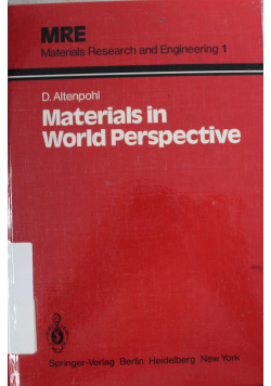 Materials in world perspective