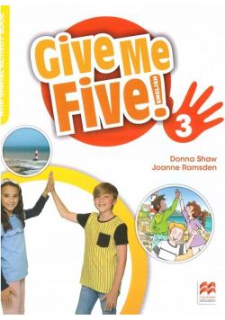 Give Me Five! 3 Activity Book + kod MACMILLAN