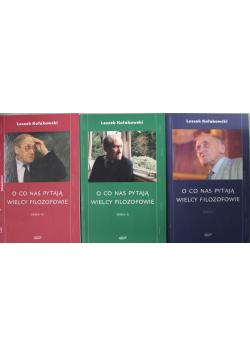 O co nas pytają wielcy filozofowie 3 tomy