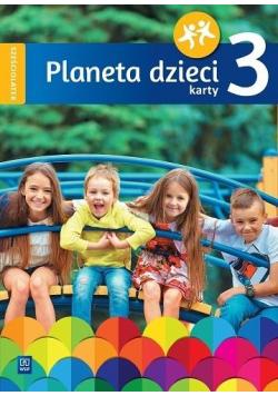 Planeta dzieci. Sześciolatek Karty pracy cz.3 WSiP