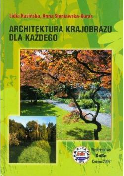 Architektura krajobrazu dla każdego