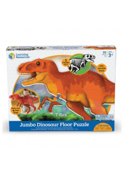 Duże, piankowe puzzle podłogowe, Dinozaur T-Rex