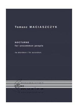 Nocturne for uncommon people na akordeon