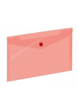 Koperta A5 na zatrzask czerwona GRAND