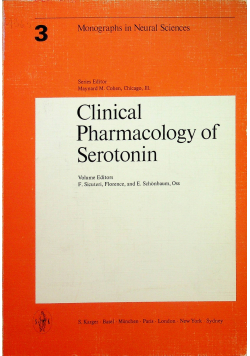 Clinical Pharmacology of Serotonin