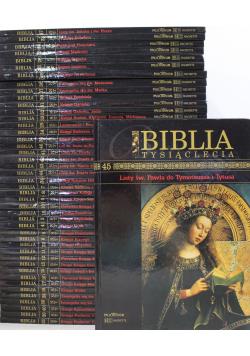 Biblia tysiąclecia 45 tomów